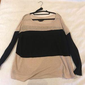 Alice & Olivia stripe base layer sweater